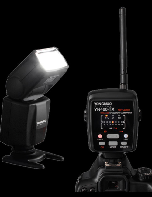 Yongnuo-YN460-TX-Wireless-TTL-setup